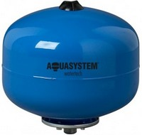 With replaceable membrane for pressurized systems of sanitary water VA 35 Aquasystem