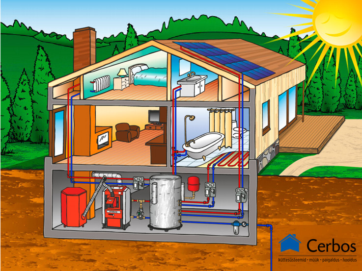 Construction of heating systems