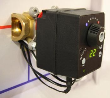 Kütteregulaator LK 120 SmartComfort RT ja 3-T ventiil (kolmiksegisti)