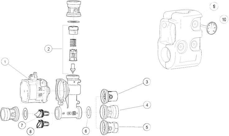 Segamissõlm LK 810 ThermoMat G varuosad ja lisad