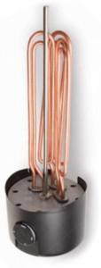 Ääriku külge paigaldatav elektriline sukelküttekeha