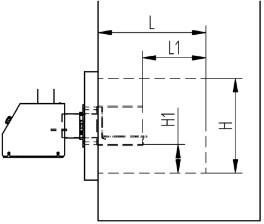 Nõuded katla kolde mõõtmetele põleti paigaldamisel