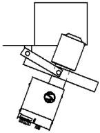 Selleks, et hoida ukse laiust minimaalsena ja katla ava väiksena, võib kasutada topelthingesid