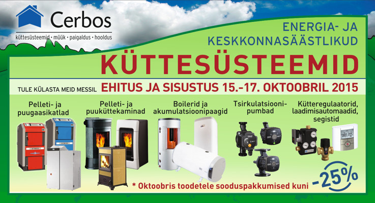 Energia- ja keskkonnasäästlikud küttesüsteemid