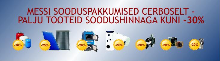 Mess Eesti ehitab 2013 sooduspakkumised - kütteseadmed kuni -30% soodsamalt