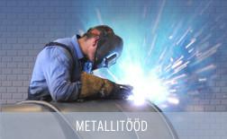 Metallitööd, akumulatsioonipaakide valmistamine, keevitamine